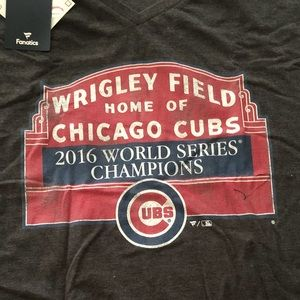 Fanatics Shirts - ⚾️NWT Chicago Cub World Champ T-shirt baseball ⚾️